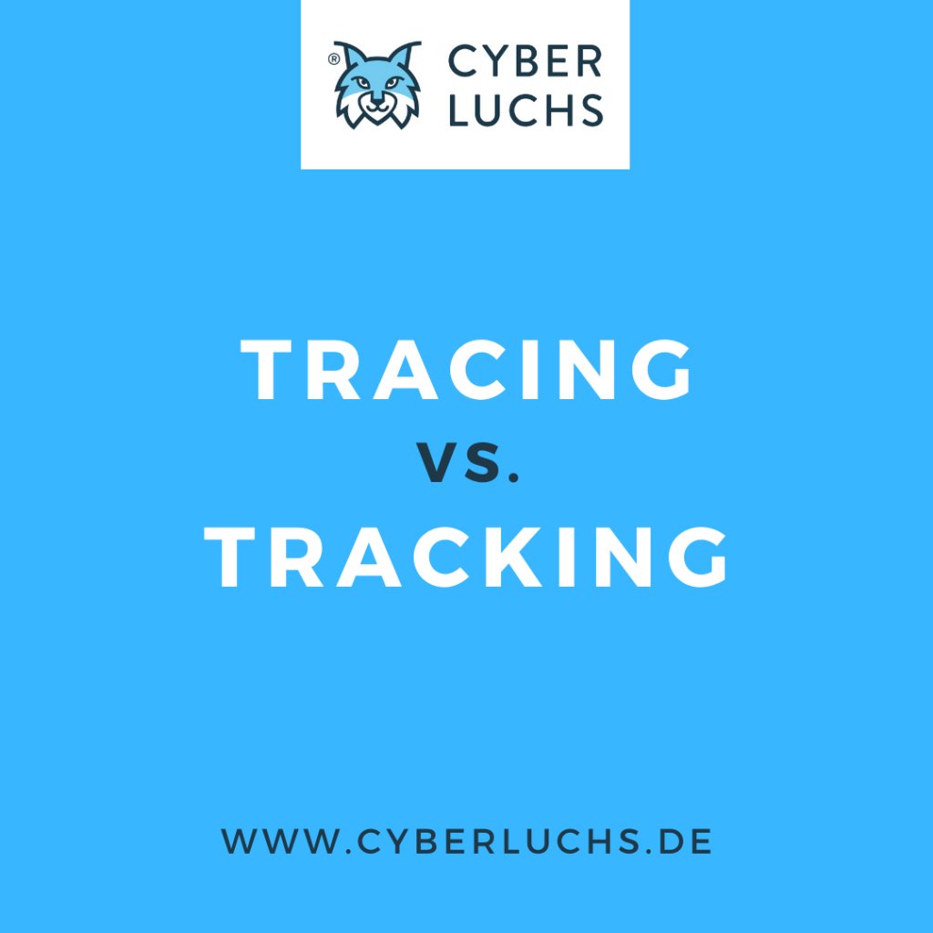tracing vs. tracking